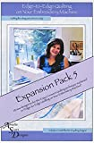 Edge-to-Edge Quilting on Your Embroidery Machine Expansion Pack 5 CD - Amelie Scott Designs (SG_B01D8YKZT0_US)