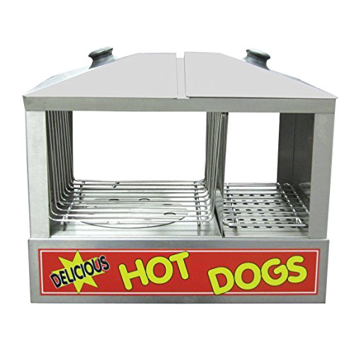 Adcraft HDS-1200W Hot Dog and Bun Steamer, Stainless Steel,...