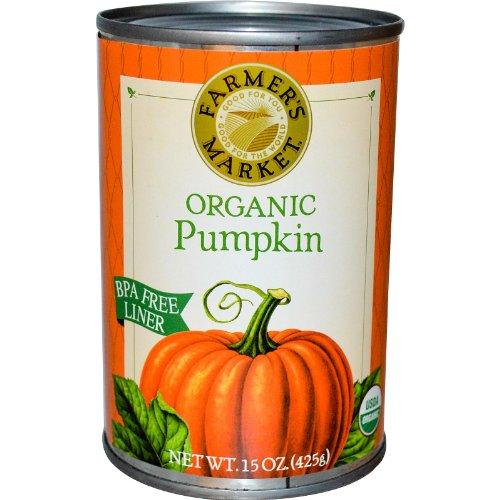 Farmer's Market Foods, Pumpkin Organic, 15 Ounce