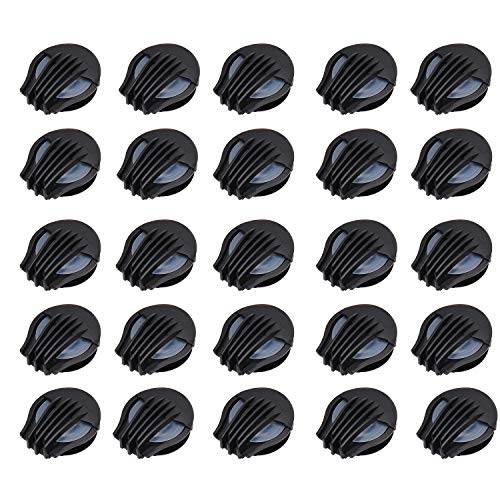 TOBWOLF 24PCS Dustproof Mask Air Valves, Compact & Lightweight, Durable ABS Mask Accessories for Most Kind of Double Air Breathing Valve Mask