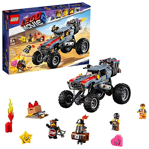 LEGO THE LEGO MOVIE 2 Escape Buggy 70829 Building Kit, Build and Play Toy Car with Action Heroes (550 Pieces)