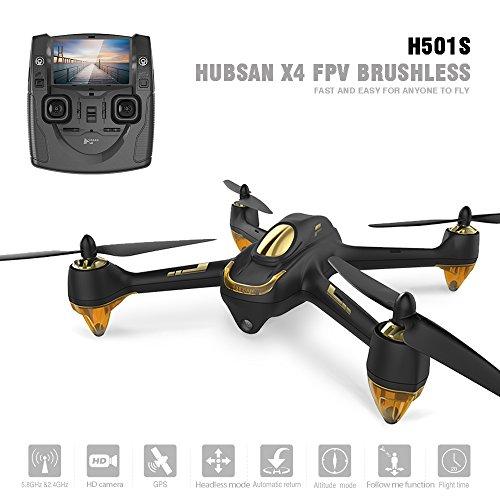 Hubsan H501S X4 Brushless Droni GPS 1080P HD Fotocamera 5.8 GHz FPV 2.4 GHz RC Quadricottero con...
