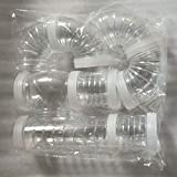yejifs Populaires Parfait Multi-Style Hamster Tunnel Fixations Transparent Acrylique Cage Hamster Accessoires...