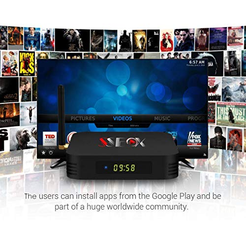 SS Box HD Arabic IPTV Box Free for Life time 8400+ Channels