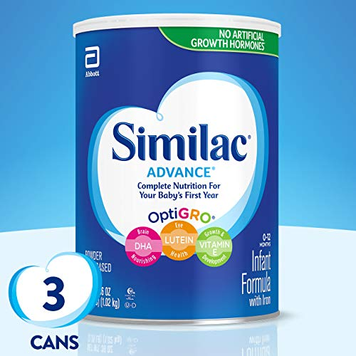 Similac Advance Infant Formula with Iron, Powder, One Month...