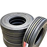 Set of 4 (FOUR) Transeagle ST Radial Premium Trailer Radial Tires-ST225/75R15 225/75/15 225/75-15 121/117M Load Range F LRF 12-Ply BSW Black Side Wall