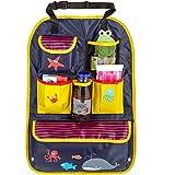 Poche arrière CARTO, colorée avec de nombreux compartiments, hydrofuge, idéal...