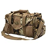 Rig'Em Right Waterfowl Shell Shocker XLT Duck Hunting Blind Bag with Molded Ammo Compartments, Sunglasses Case, Drink Holder and More (Gore Optifade March Camo)