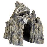 pour Animal Domestique Ting Tête de Mort Grotte Aquatique...