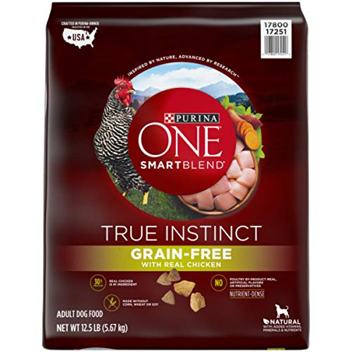 Purina ONE Grain Free, Natural, High Protein Dry...