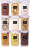 Vtopmart Lot de 9 boîtes de Conservation de Nourriture en...