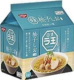 日清 ラ王 柚子しお 5食パック 465g ×6袋