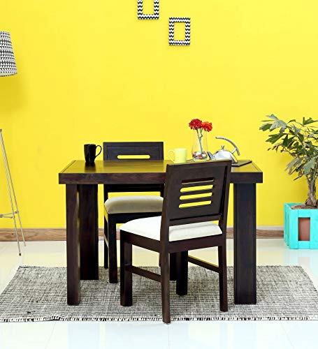 Mamta Decoration Sheesham Wood 2 Seater Dining Table Set for Living Room
