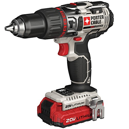 PORTER-CABLE 20V MAX Hammer Drill, Tool Only (PCC620LB)