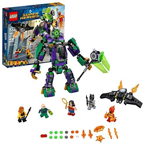 LEGO DC Super Heroes Lex Luthor Mech Takedown 76097 Building Kit (406 Piece)
