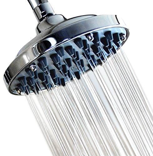 """WantBa 6"""" Fixed High Pressure Shower Head"""