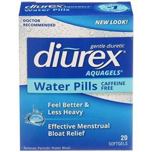 Diurex Aquagels - Caffeine Free Diuretic - Immediate Release - Relieve Water Bloat - 20 Count 10 - My Weight Loss Today