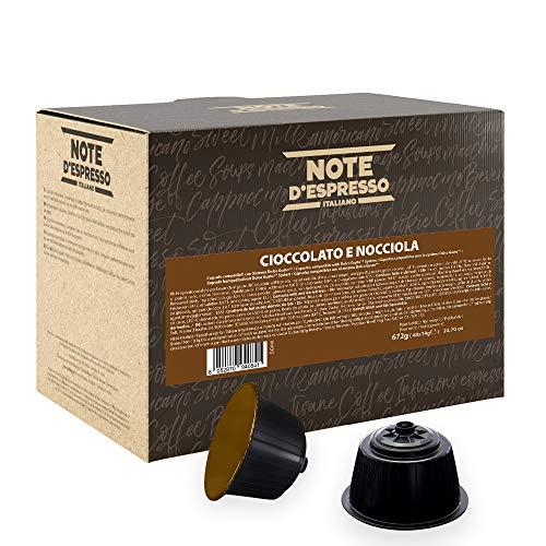 Note D'Espresso Preparato Solubile per Bevanda al Gusto di Cioccolato ed Nocciola in Capsule esclusivamente compatibili con macchine Nescafé* e Dolce Gusto* 672 g (48 x 14 g)