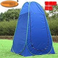 ポータブル 更衣室 簡単設置 テント レジャー用品 グリーン