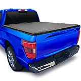 Tyger Auto T3 Soft Tri-Fold Truck Bed Tonneau Cover Compatible with 2015-2021 Ford F-150   Styleside 5.5' Bed (66')   TG-BC3F1041 , Black
