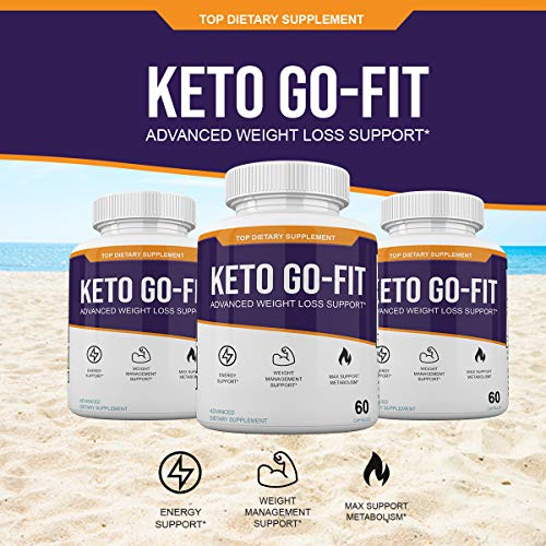 Keto Go-Fit - Advanced Weight Loss Support* - 120 Capsules - 60 Day Supply 7