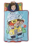 CoComelon Kids Nap Mat Set – Includes Pillow and Fleece Blanket – Great for Girls Napping During...