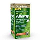 GoodSense All Day Allergy, Cetirizine HCl...
