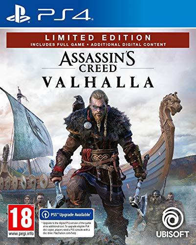 Assassin's Creed Valhalla - Limited Berserker uncut Edition (Inkl. Bonus DLC per Email) deutsche Sprache