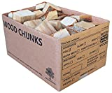 These smoking wood chunks are completely natural, untreated with no nasty chemicals - 100% high quality British wood with nothing added but nature and time. This Large box 25 L box of Wood Chunks contains kiln cured chunks that are split down to fist...