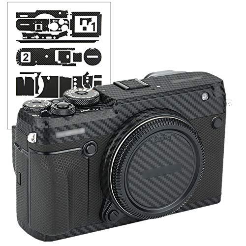カメラ保護レザーフィルム 富士フイルム Fujifilm GFX 50R GFX50R カメラ に対応 3M材料カーボンファイバ