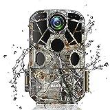 WiMiUS H8 WiFi Caméra de Chasse, 24MP 1296P HD Caméra de Surveillance...
