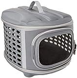 PET MAGASIN - Cuccia da Viaggio Pieghevole per Gatti, Cuccioli di Piccola Taglia e
