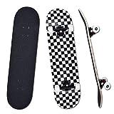 YUDOXN Skateboard Complet pour débutants, Adolescents, Enfants 31 x 8...