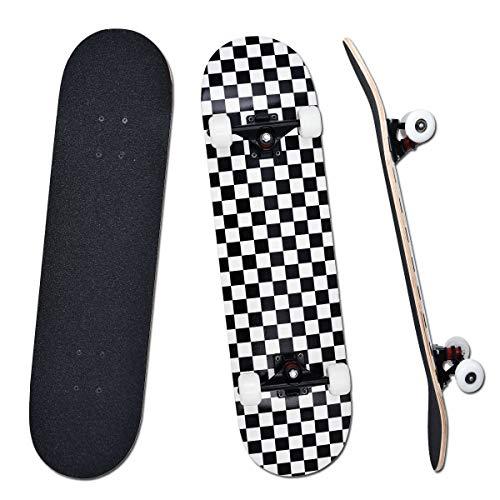 YUDOXN Completo Skateboard para Principiantes, Adolescentes,