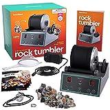 Advanced Professional Rock Tumbler Kit - with Digital 9-day Polishing timer & 3 speed settings -...