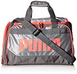 PUMA Women's Evercat Dispatch Duffel, gray/coral, OS