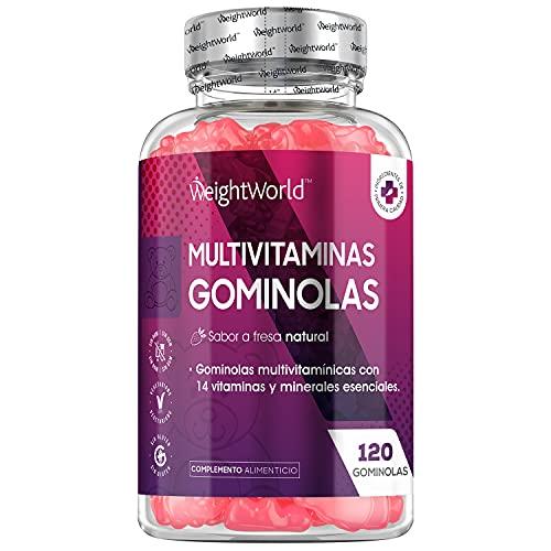 Gominolas Multivitaminas y Minerales de Alta Potencia 120 Un