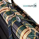 Homeoutfit24 Sun Garden 4-Stück Gartenstuhl-Auflage - 6