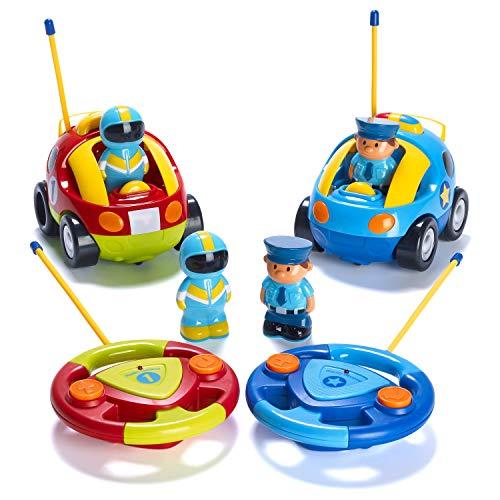Prextex Pack of 2 Cartoon Cars