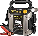STANLEY J309 JUMPiT Portable Power Station Jump Starter: 600 Peak/300 Instant Amps, 3.1A USB Ports, Battery Clamps