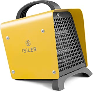 ISILER Space Heater, 1500W Portable Indoor Heater, Ceramic Space Heater Adjustable..