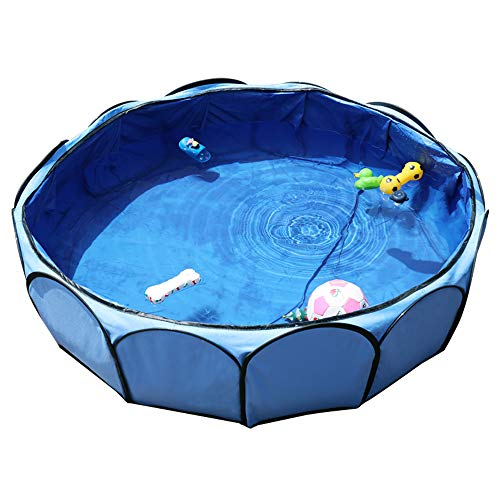 Petsfit Foldable Dog Pool for Swimming, Outdoor...