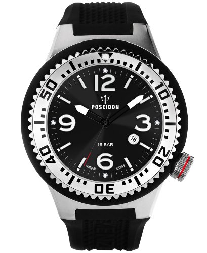 Kienzle Herren-Armbanduhr POSEIDON XL Analog  Quarz Silikon K2031013213-00384