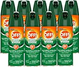 OFF! Deep Woods Insect Repellent 6 oz (Pack of 9)