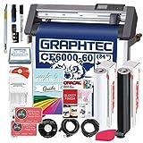 Graphtec PLUS CE6000-60 24 Inch Professional Vinyl Cutter with BONUS...