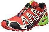 Salomon Herren Speedcross 3 Traillaufschuhe, Rot (Radiant Red/Light Grey-/ Granny Gre), 42 2/3 EU