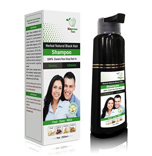 Herbal Natural black hair Shampoo … (200ML)