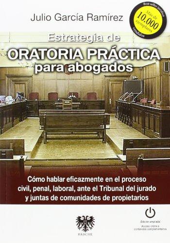 Estrategia de oratoria practica para abogados
