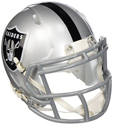 NFL Riddell Football Speed Mini Helm Oakland Raiders
