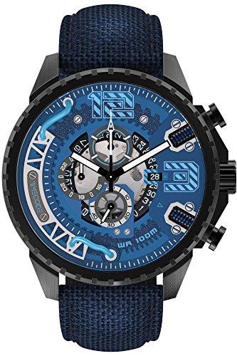 Timecode Tesla 1893 Herren-Armbanduhr Chronograph Quarz TC-1012-03